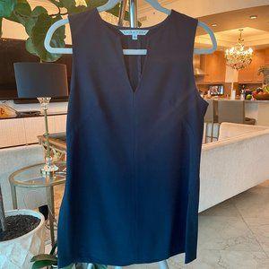 Trina Turk navy blue tunic size 4 v-neck sleeveles